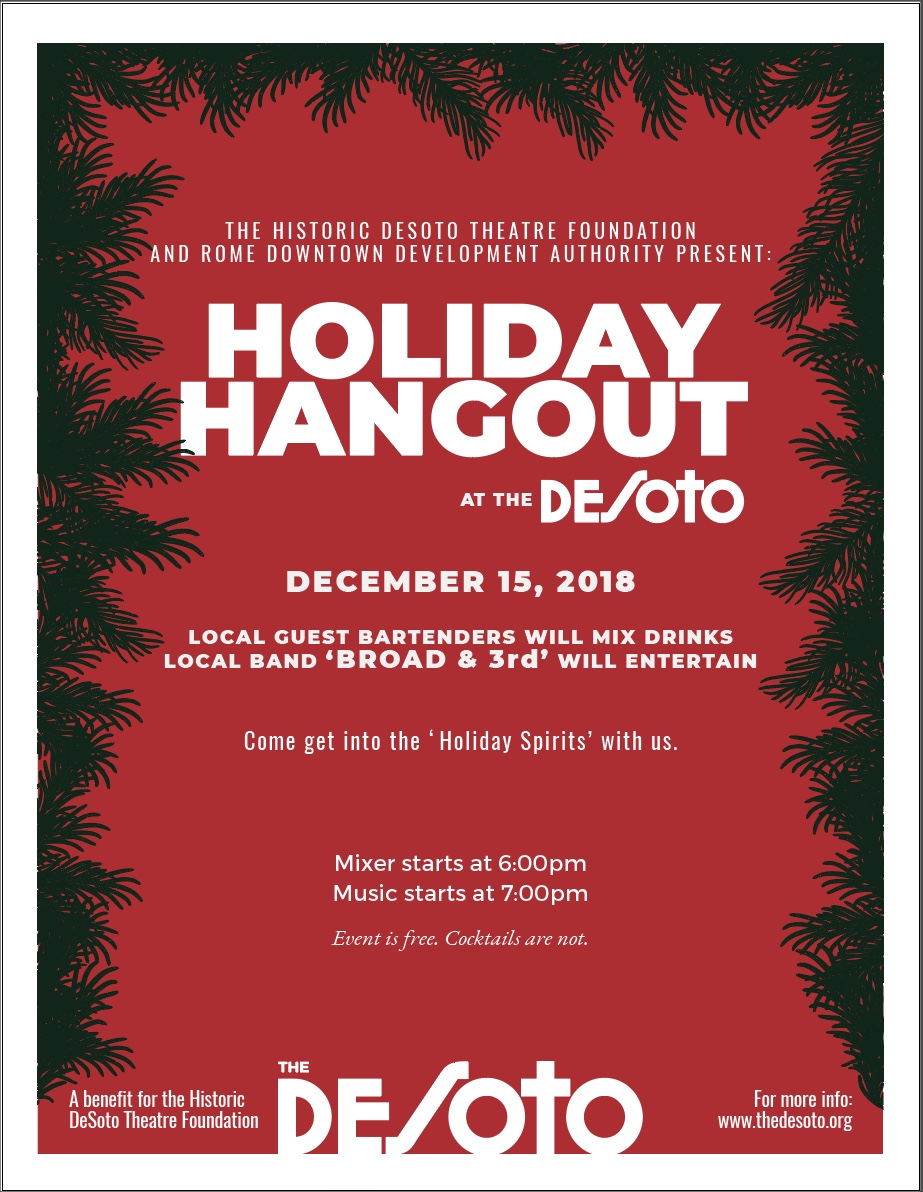 Holiday Hangout 2018 poster