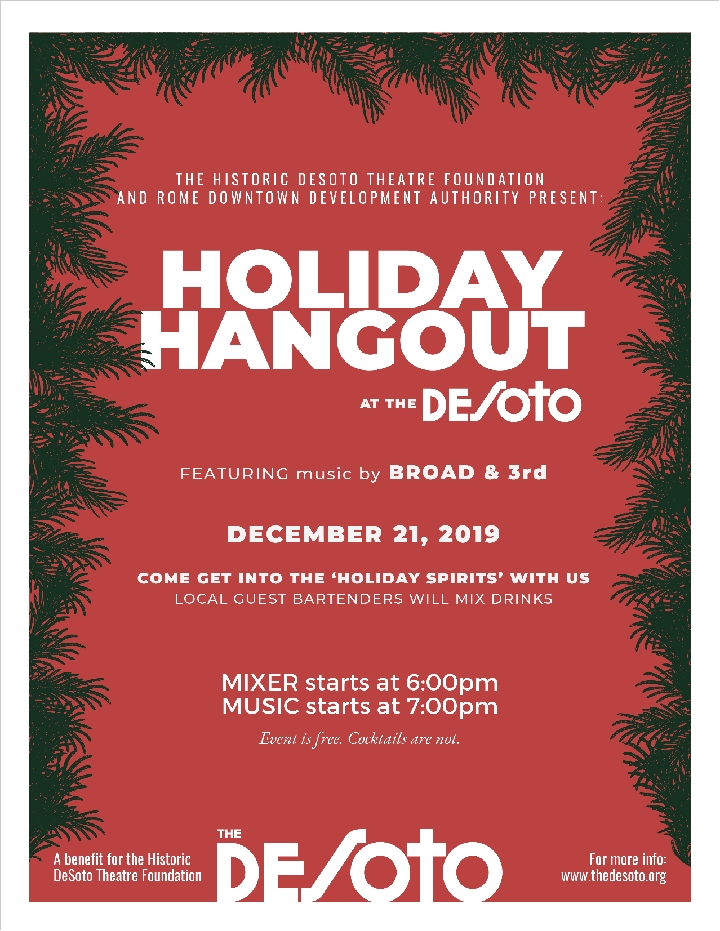2019_Holiday_ hangout_poster